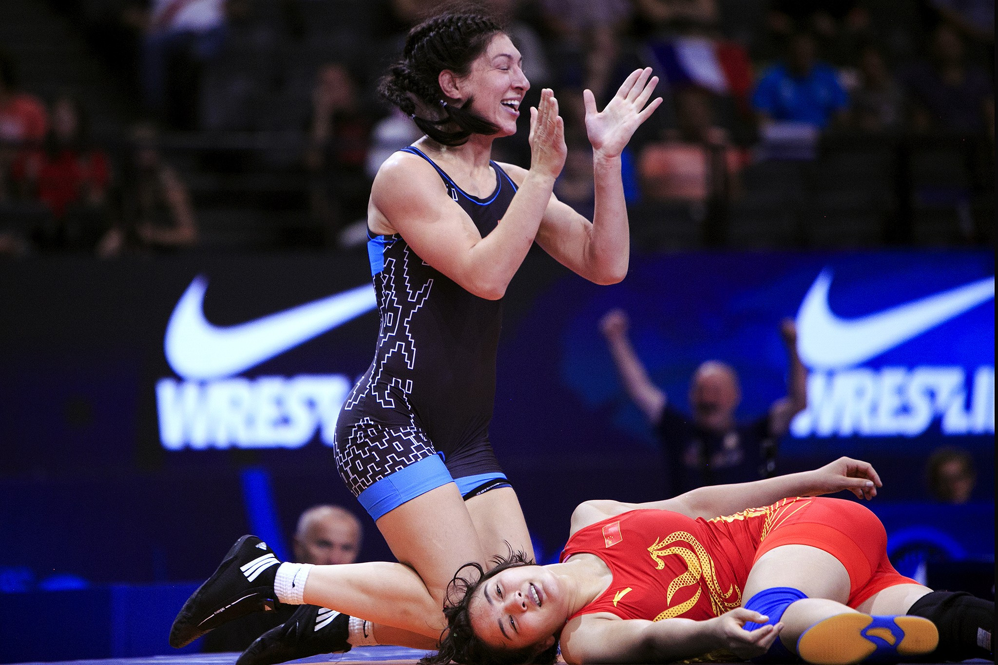 UWW Wrestling World Championships 2017: Day three of competition
