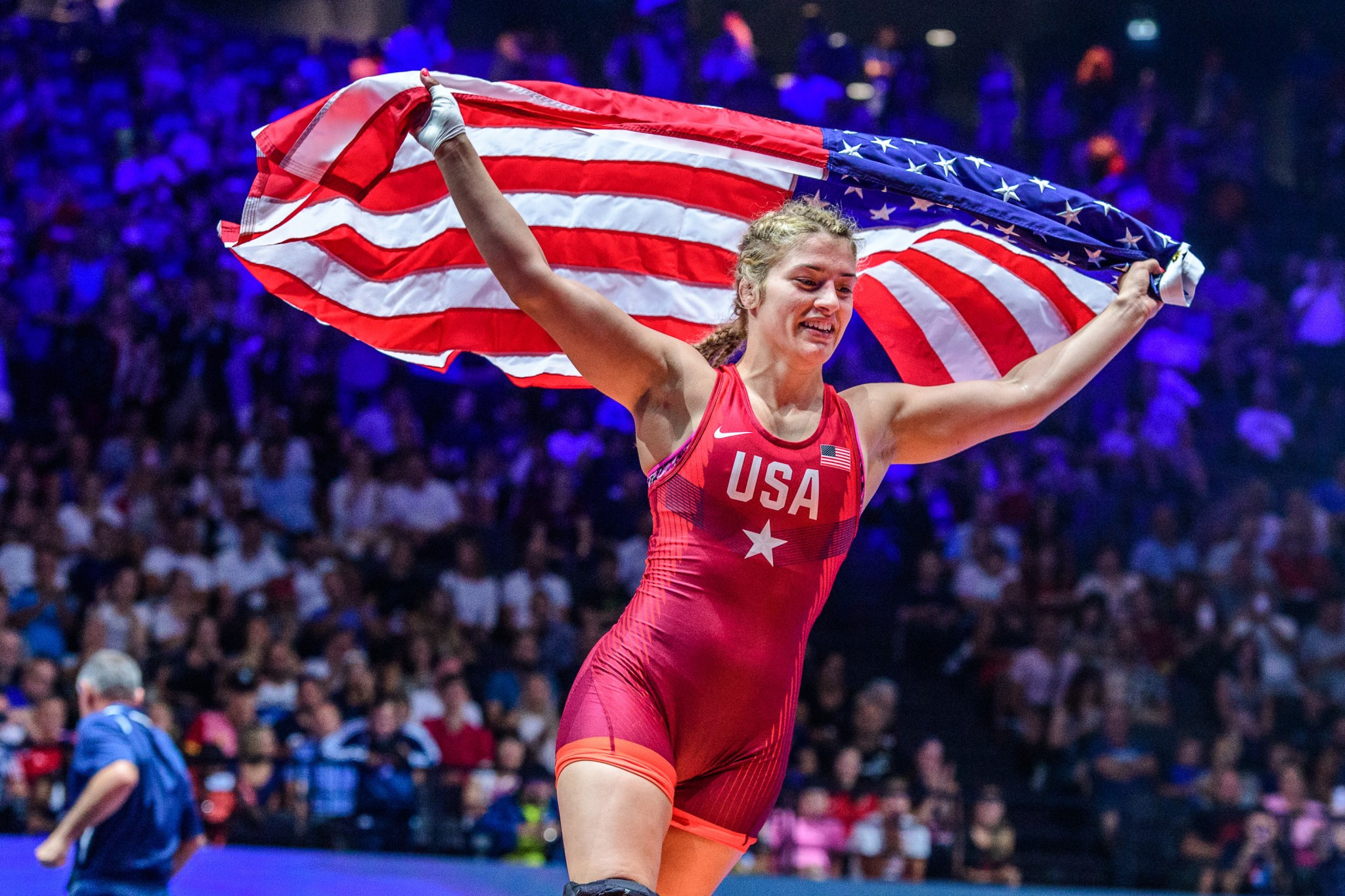 Maroulis storms to 58kg gold medal without conceding a point at UWW World Championships