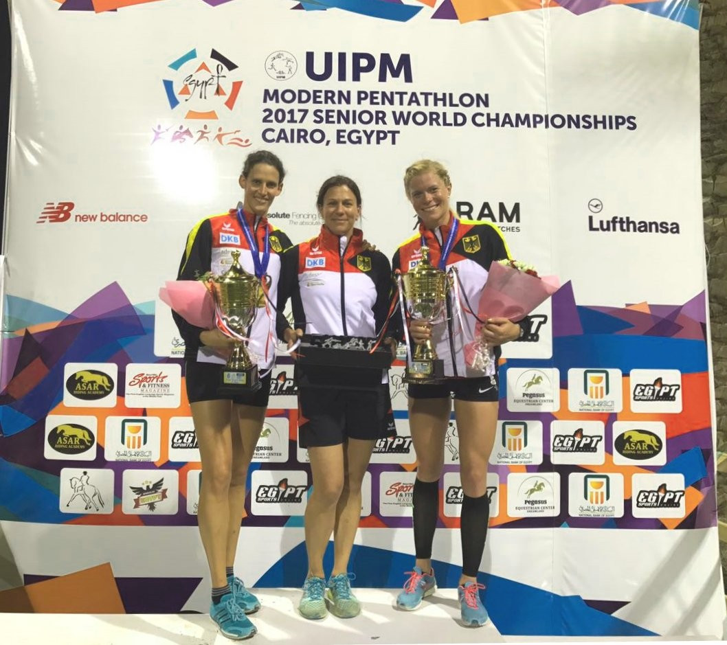 German duo retain women's relay crown at UIPM World Championships