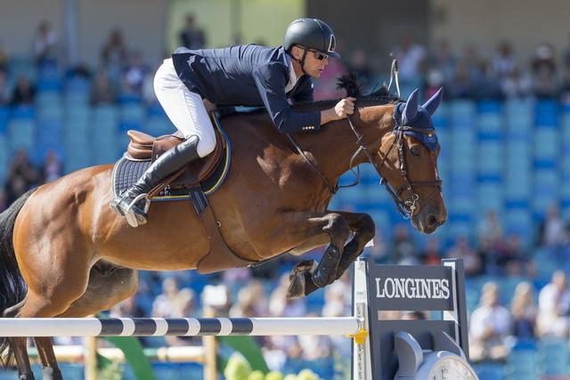 Fredericson enjoys good jumping day at FEI European Championships