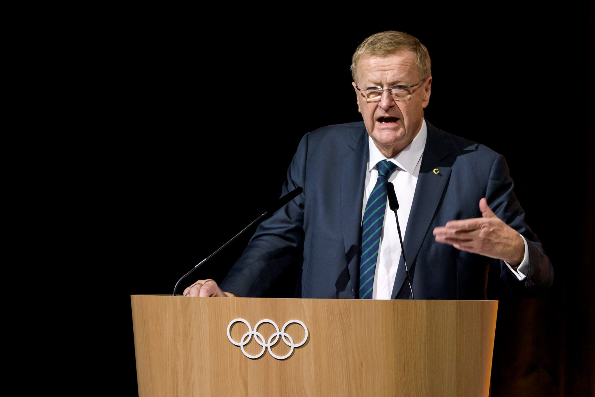 The review from The Ethics Centre will make uncomfortable reading for IOC vice-president John Coates, but the AOC President's knowledge was viewed as an asset to the organisation ©Getty Images