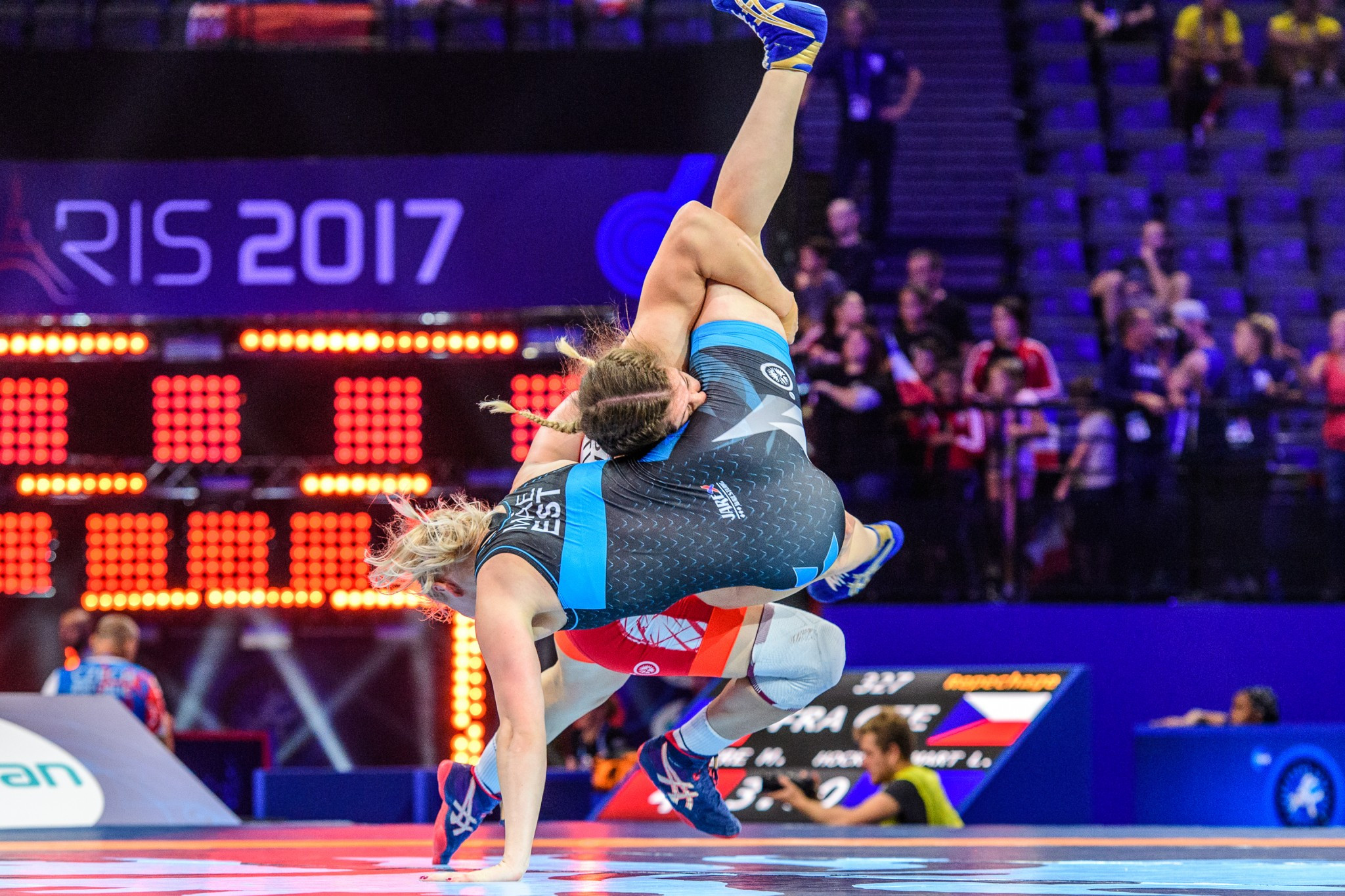 UWW Wrestling World Championships 2017: Day four of competition