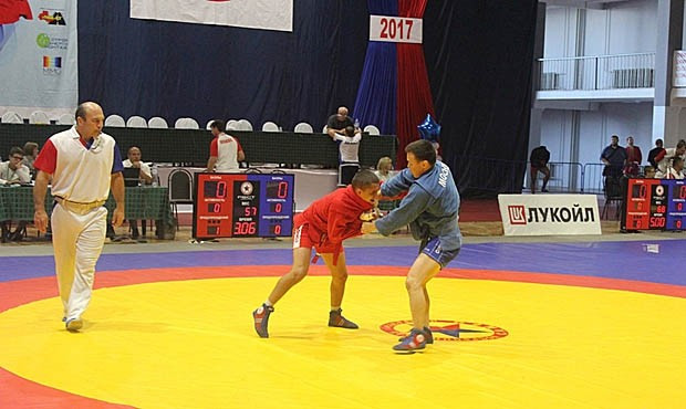 The Mikhail Burdikov Memorial Sambo Tournament was held in Kstovo ©FIAS