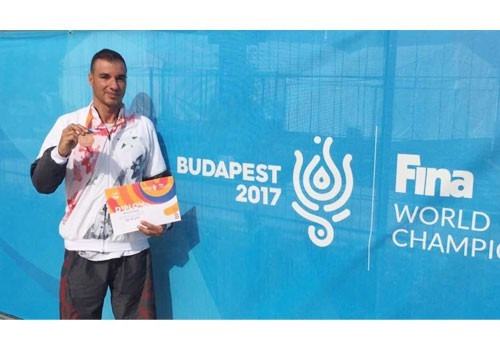 Syrian Olympic Committee secretary general thanks Sheikh Ahmad after bronze medal