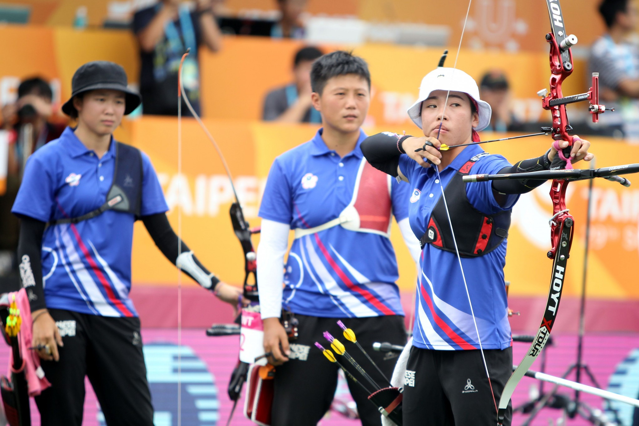 South Korea's recurve archers proved unbeatable in the gold medal matches ©Taipei 2017
