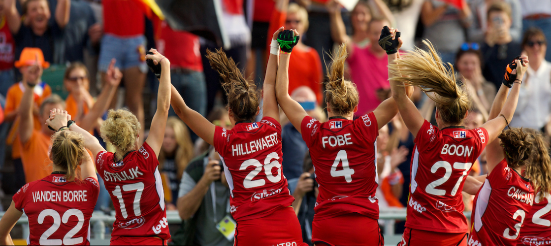 Belgium have secured a spot in their first EuroHockey Championships ©EuroHockey