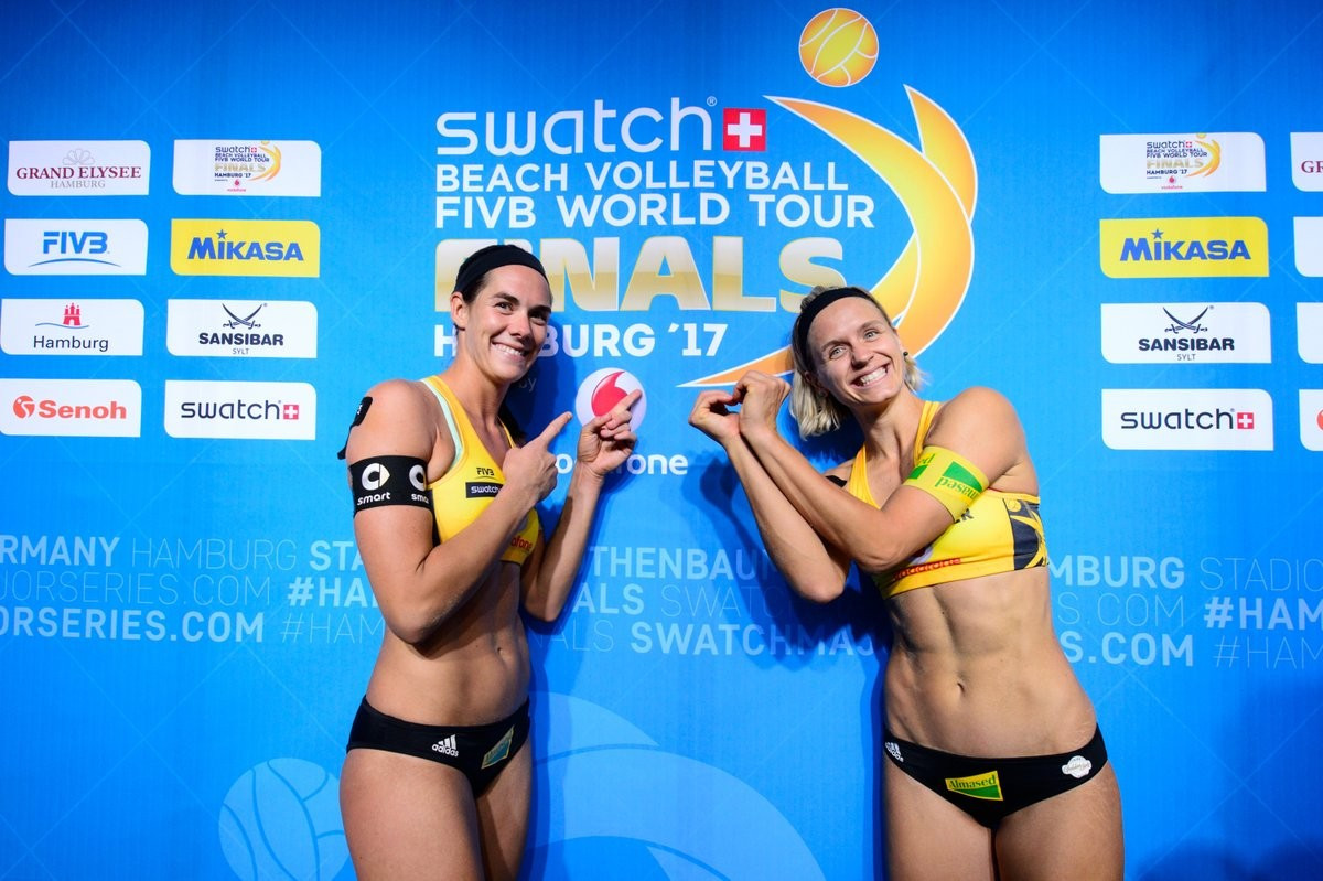 Ludwig And Walkenhorst Lead German Success At Home Fivb Beach World Tour Finals