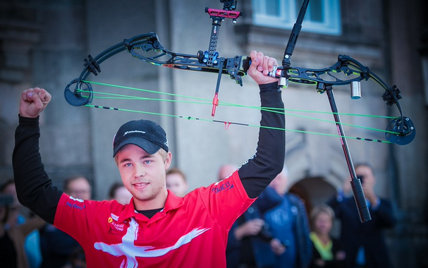 Denmark's Hansen claims men's individual compound gold at World Archery Championships in Copenhagen