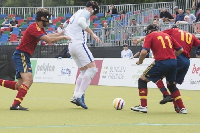 Spain to face Russia in IBSA European Football Championships final