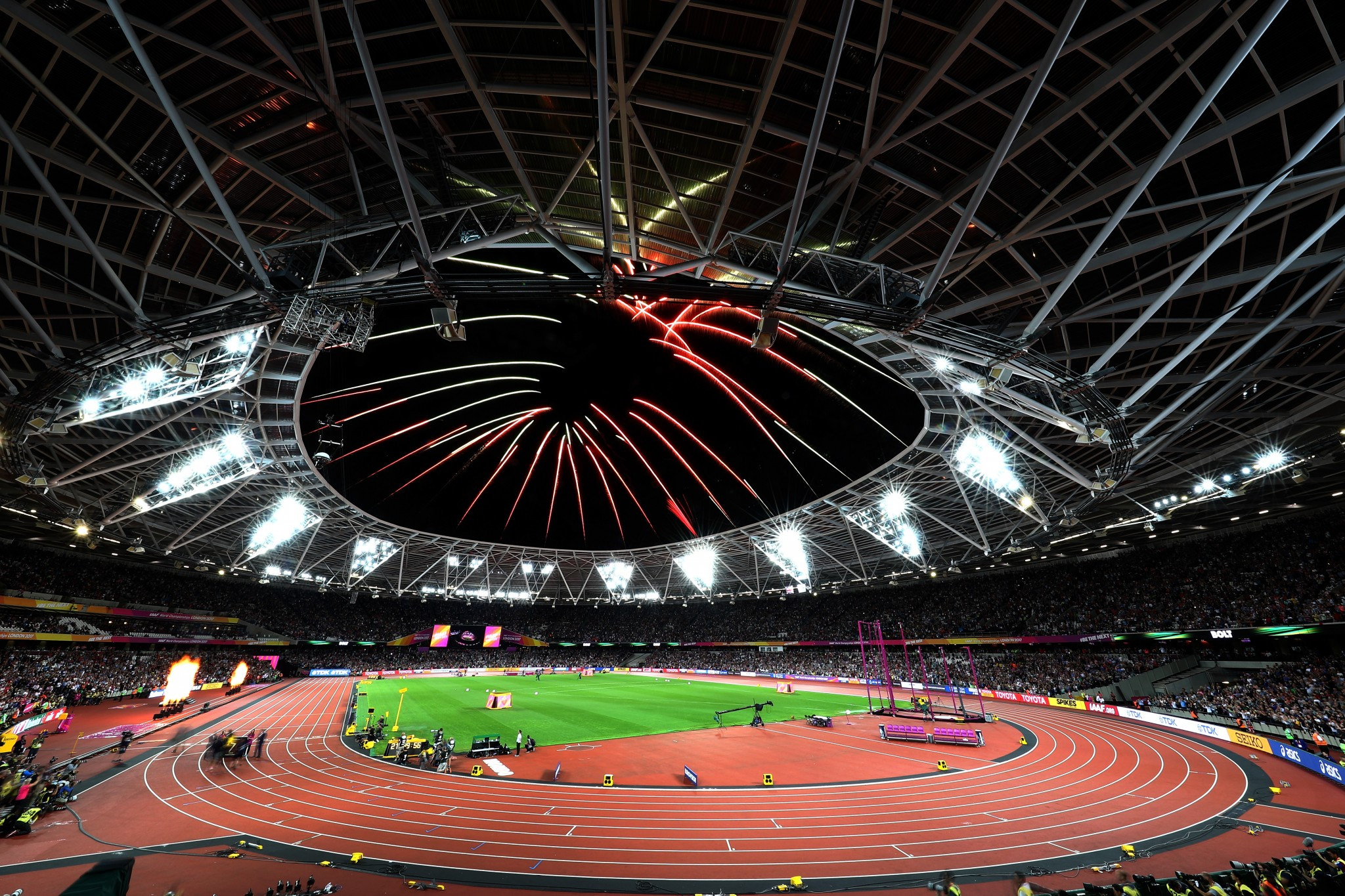 The Athletics Integrity Unit have announced there were three positive drug tests at the IAAF World Championships in London ©Getty Images
