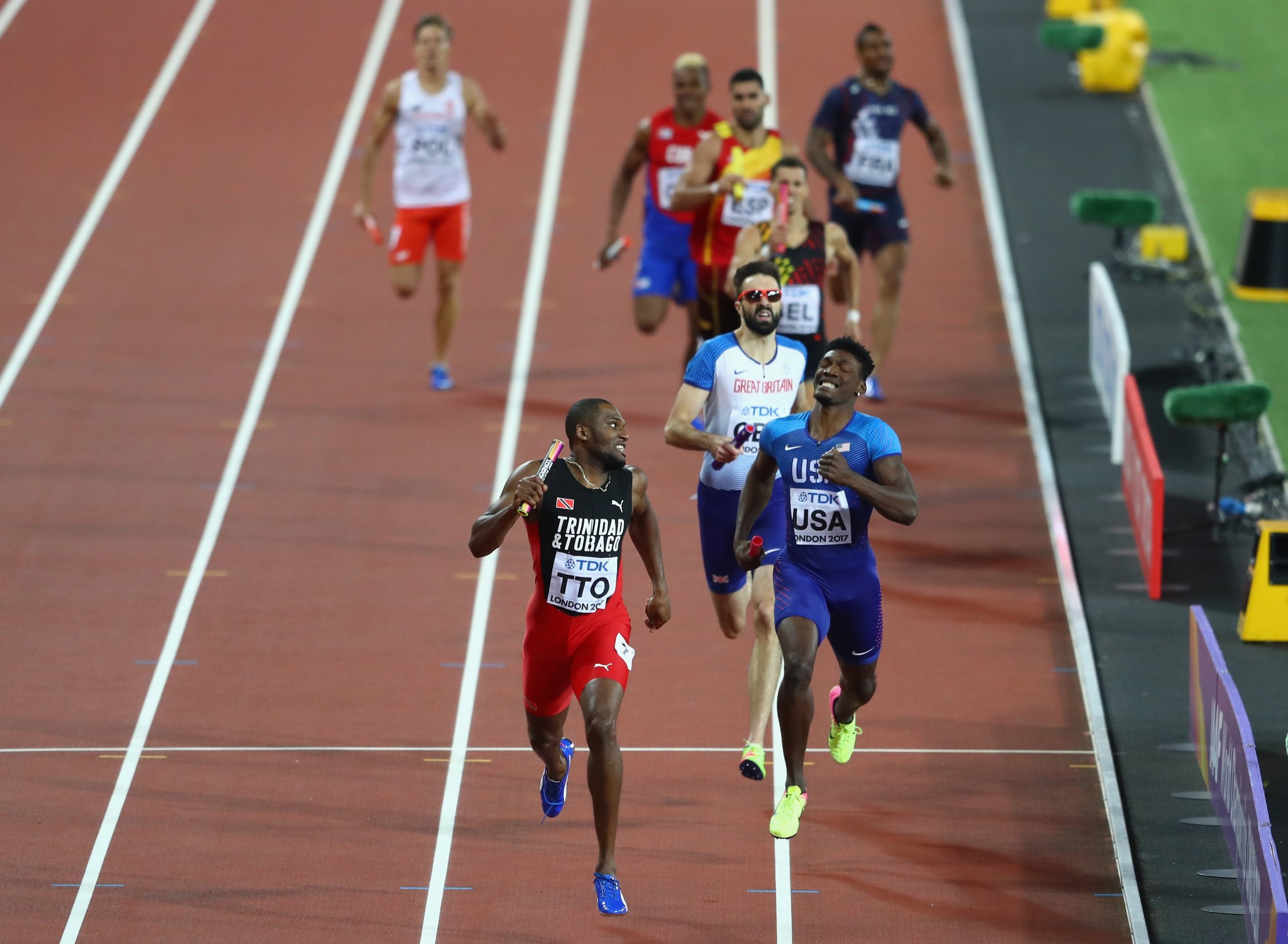 There were three positive drugs tests at the IAAF World Championships in London but none of them involved any medallists, the Athletics Integrity Unit have announced ©Getty Images