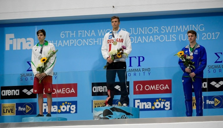 Three junior world records broken at FINA World Junior Championships
