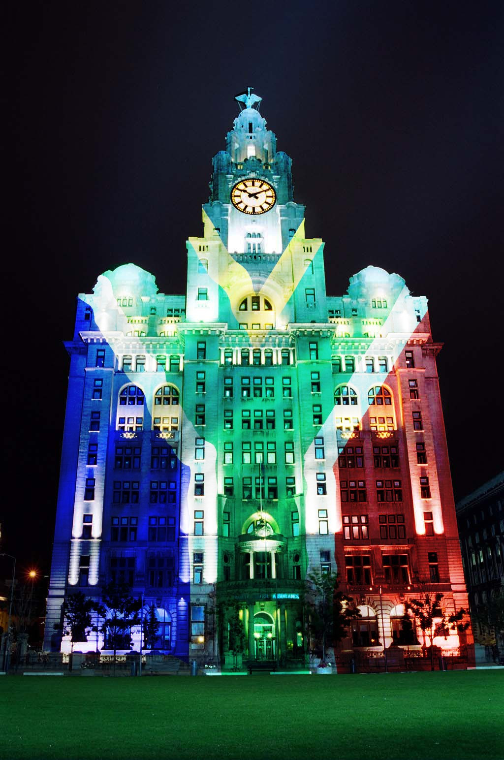 Cultural embassies for each country could be lit up at night ©Liverpool 2022