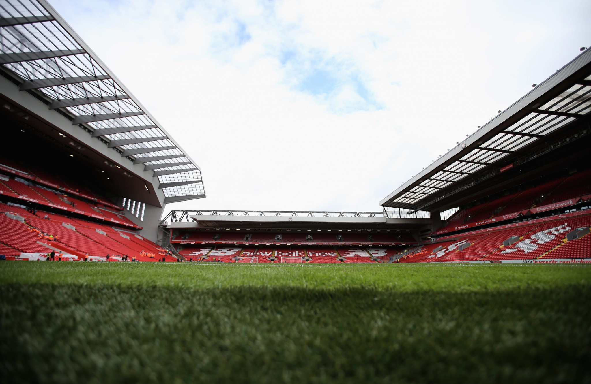 Anfield Stadium would host the Opening Ceremony ©Getty Images