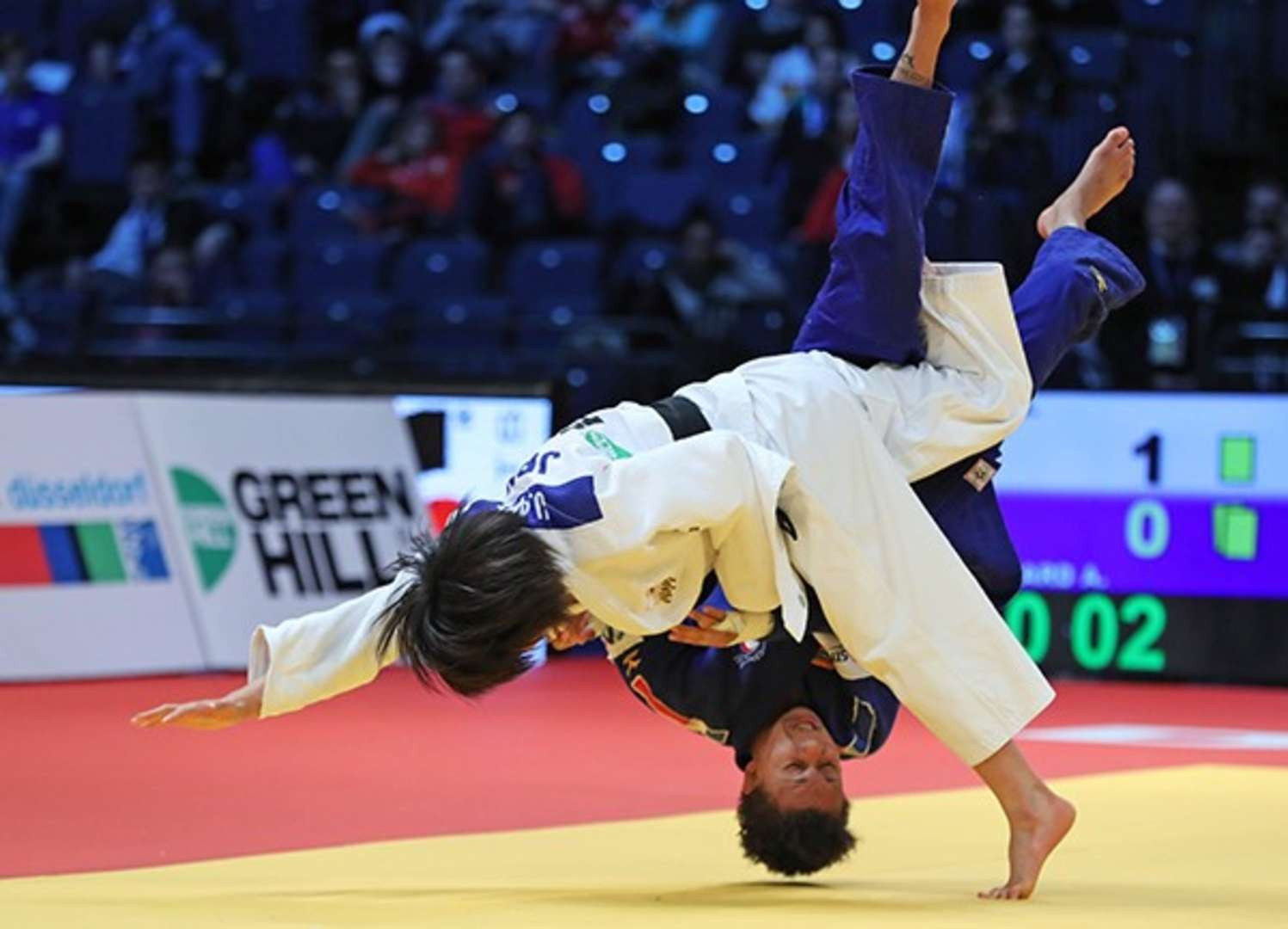 There was record prize money of $1.4 million in judo's biggest events, including the World Tour, last year ©IJF