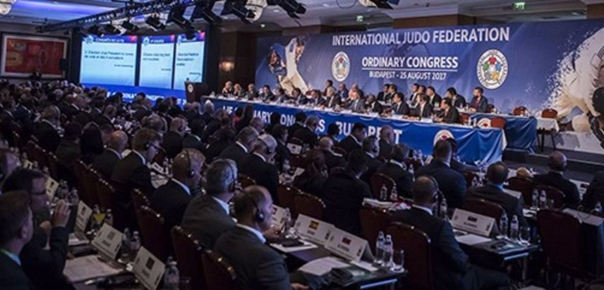 The IJF Ordinary Congress re-elected Marius Vizer as President for a new four-year term and also backed his choice for the 15-member Executive Committee ©IJF