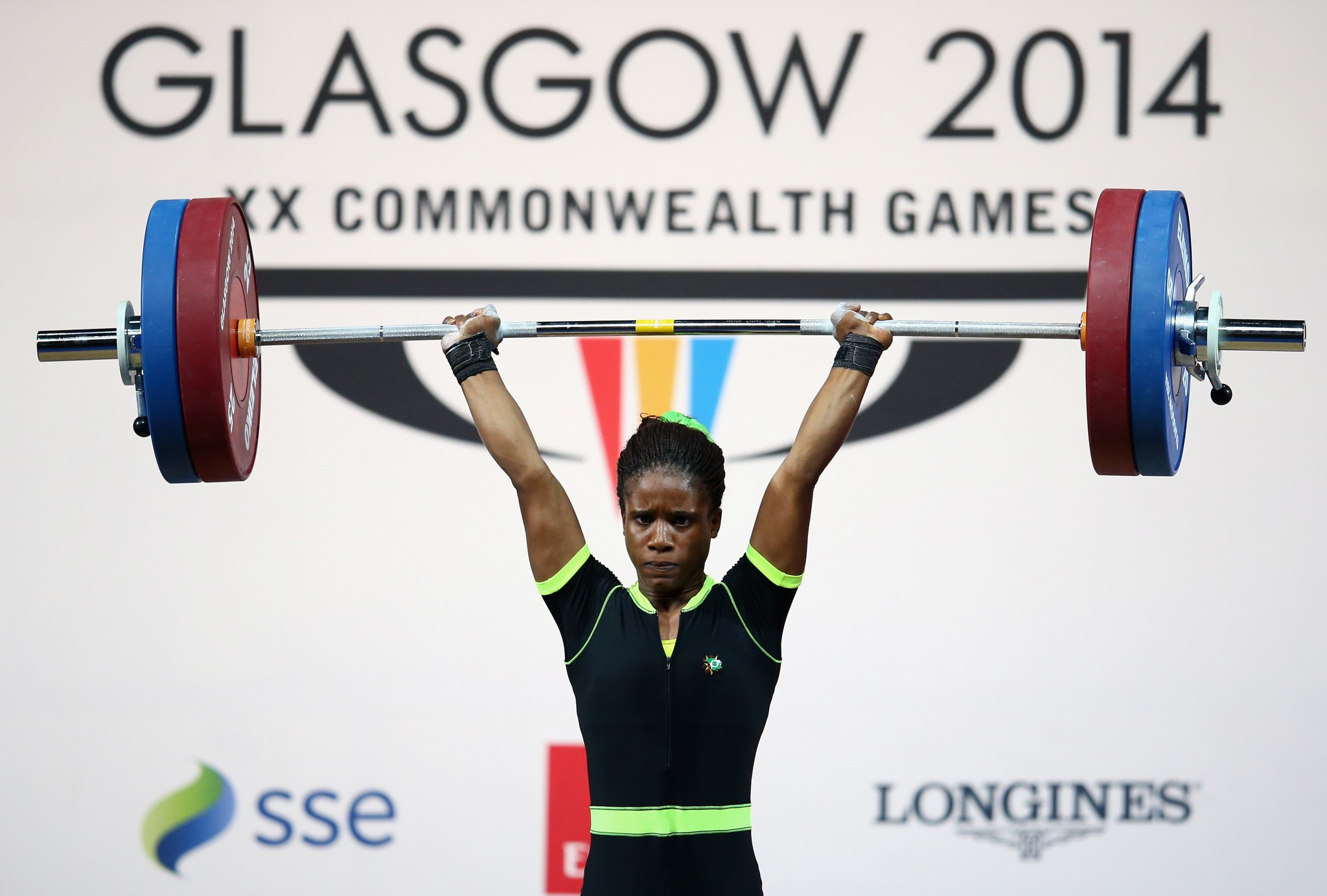 Nigerian teenage weightlifter Chika Amalaha was stripped of her Commonwealth Games gold medal at Glasgow 2014 after testing positive for banned drugs ©Getty Images