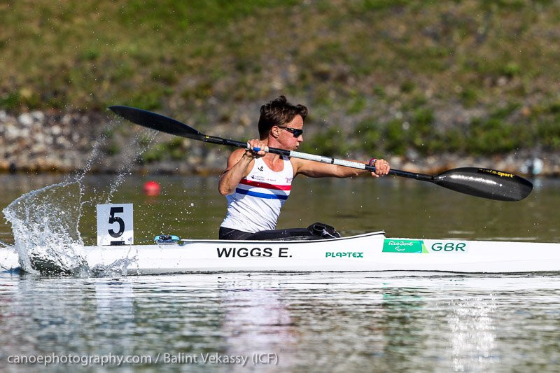 Wiggs leads British medal charge at ICF Para-Canoe World Championships