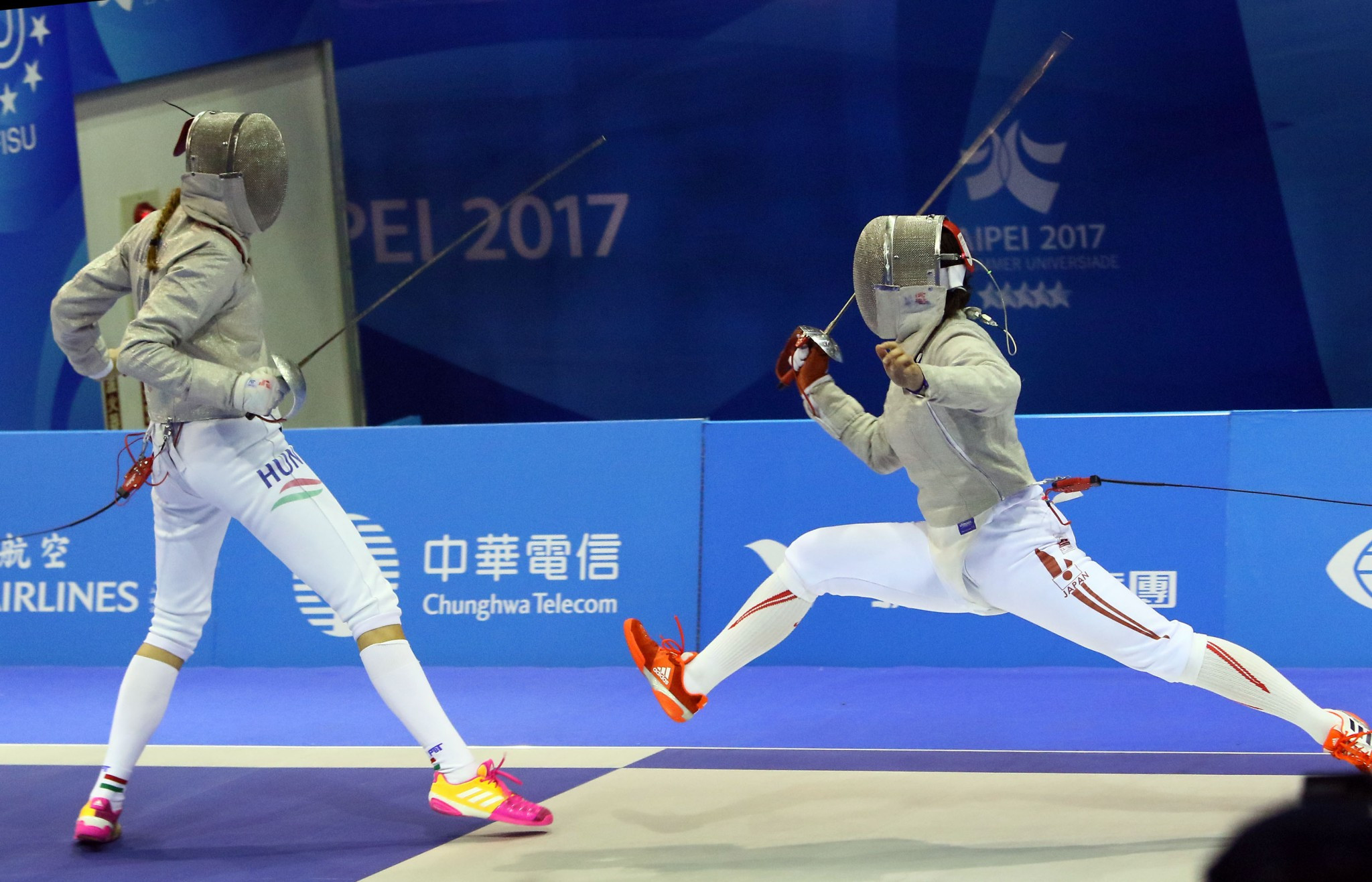 Japan earn double gold as fencing draws to a close at Taipei 2017