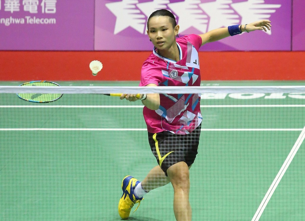 World number one Tai Tzu-Ying helped the hosts win the mixed team badminton title ©Taipei 2017