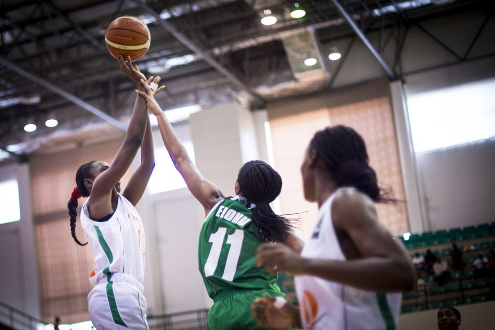 Nigeria easily beat Ivory Coast in the first quarter-final ©FIBA