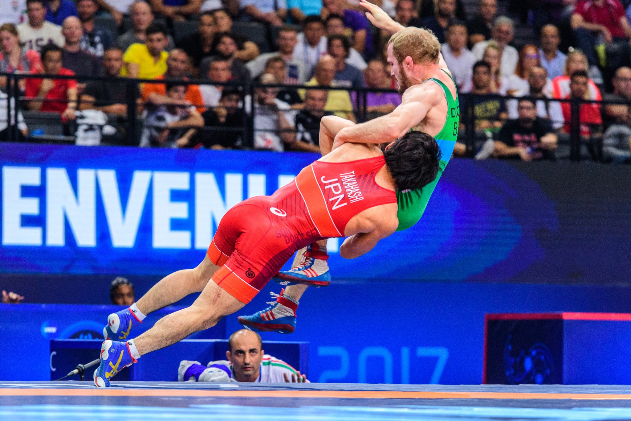 UWW Wrestling World Championships 2017: Day five of competition