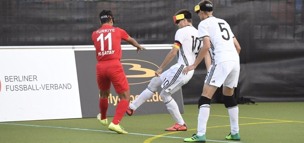Turkey beat hosts Germany to fifth place at IBSA European Football Championships