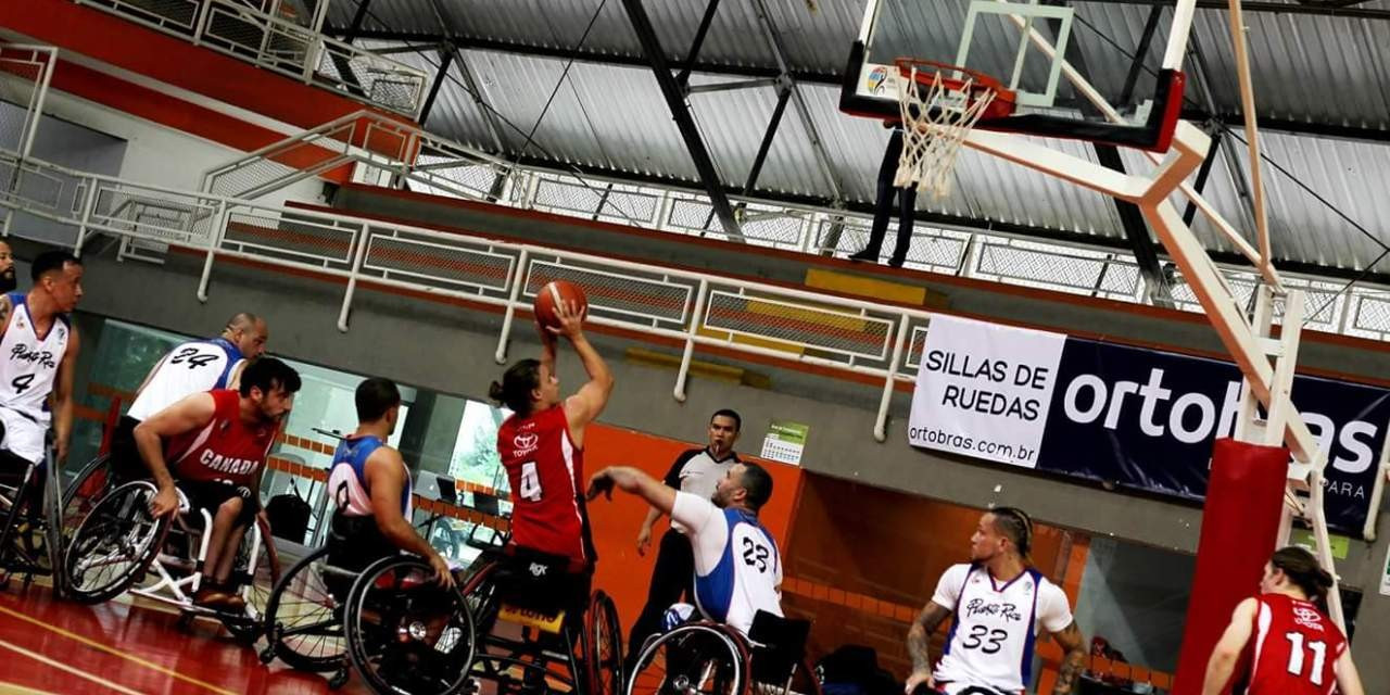 Action begun today at the 2017 Americas Cup ©IWBF/INSPIRE Colombia