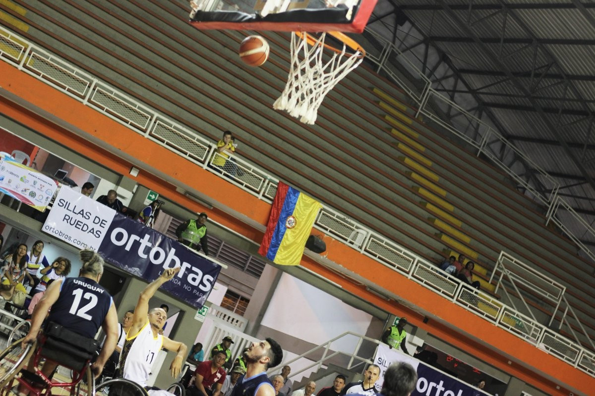 Colombia overcame Uruguay 60-47 in the men's competition ©INSPIRE Colombia/Twitter