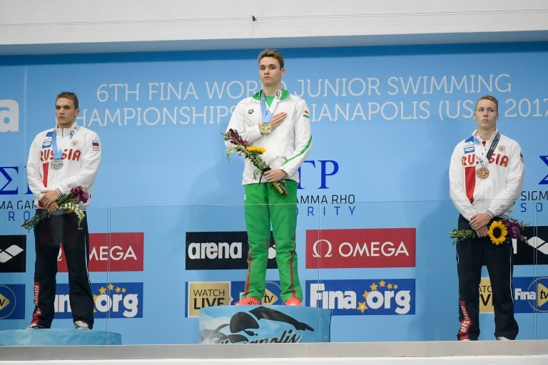 Milák wins first individual Hungarian gold at FINA World Junior Swimming Championships