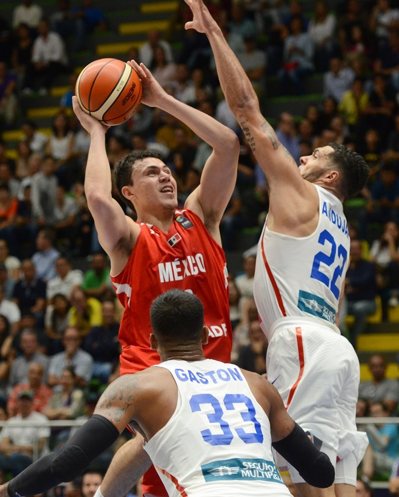 Mexico dominated the second quarter en-route to beating Puerto Rico ©FIBA