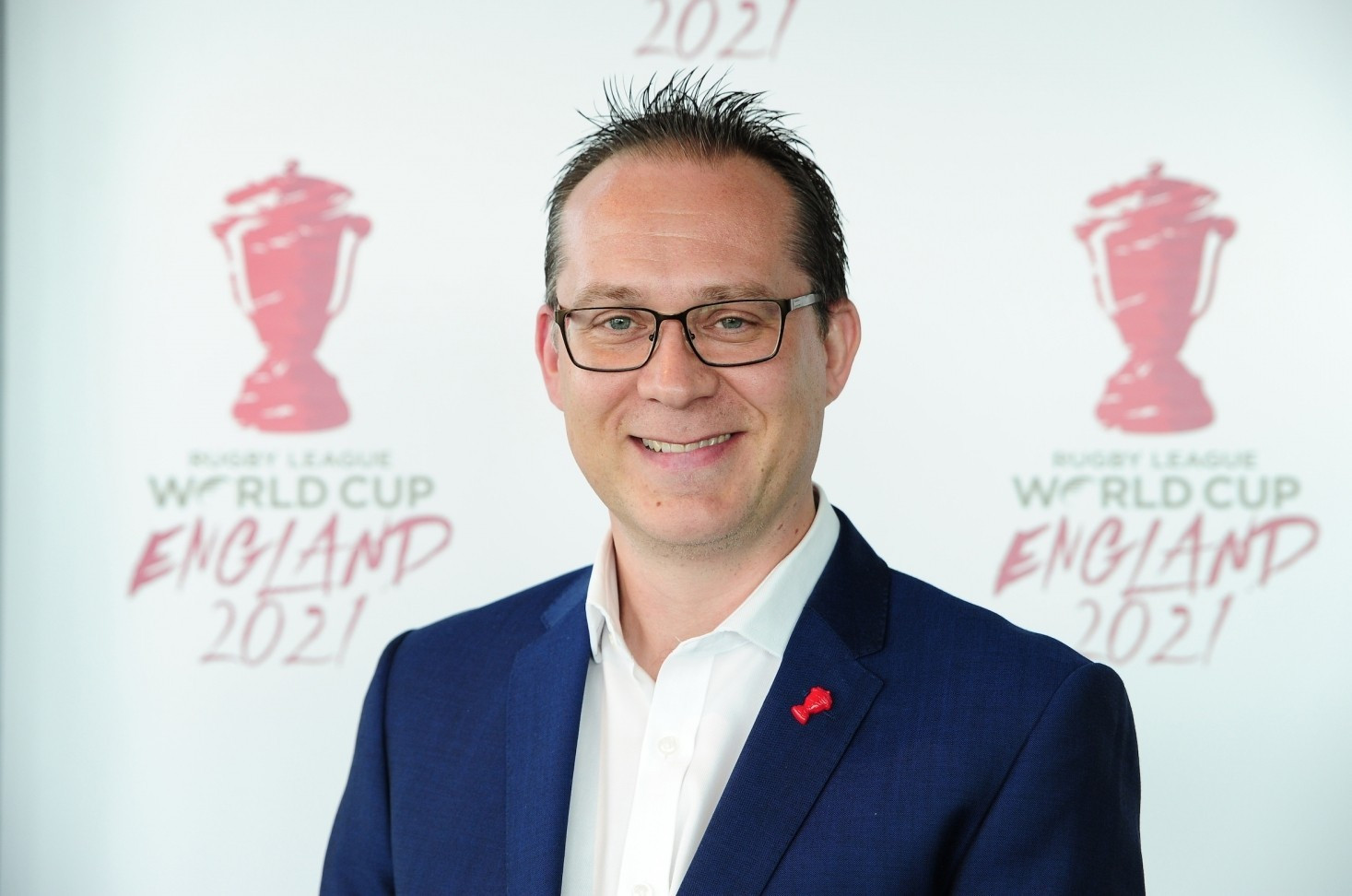 Jon Dutton has been appointed chief executive of the 2021 Rugby League World Cup ©RFL