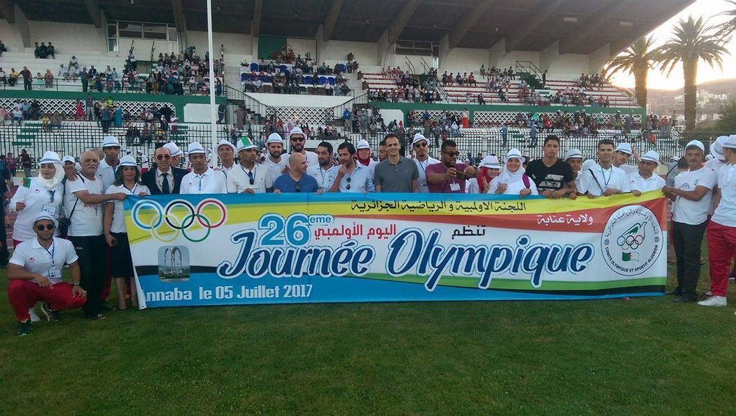 Medallists join Algerian Olympic Committee at event in Annaba
