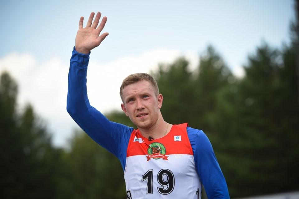 Vladimir Chepelin won gold for Belarus in the men's event ©IBU