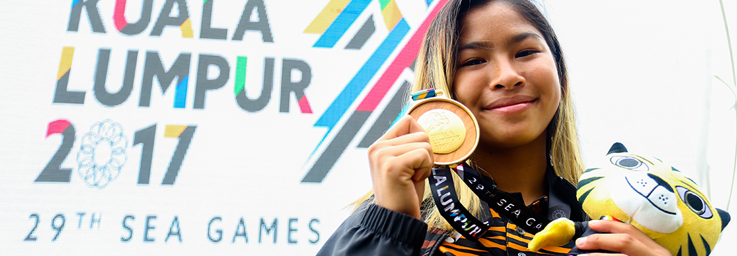 Yoong wins Southeast Asian Games gold medal for fourth time even though still only 14