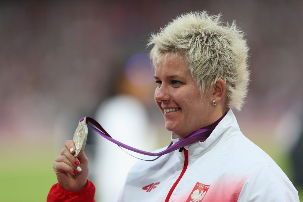 Poland's Wlodarczyk becomes first woman to throw hammer further than 80m