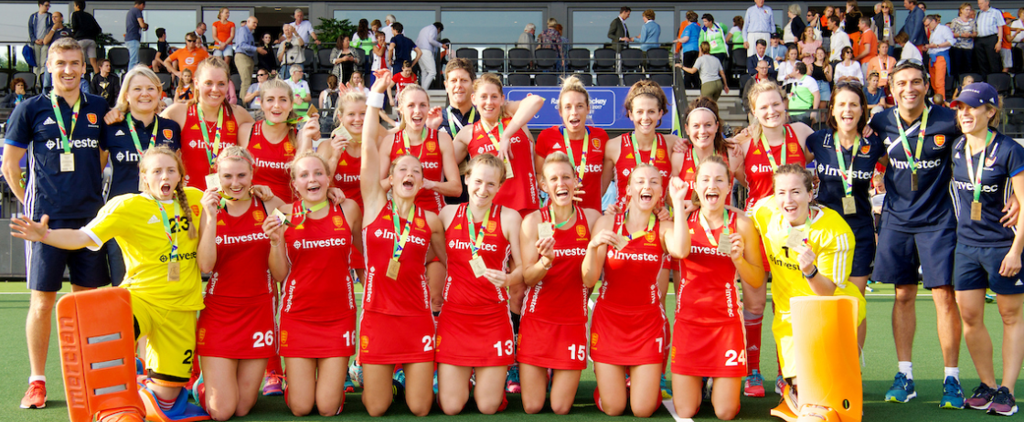 England had earlier secured the bronze medal ©EuroHockey