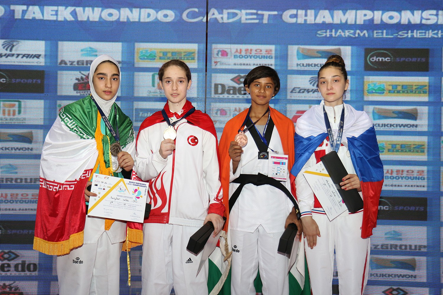 Five more gold medals were won at the youth event ©World Taekwondo