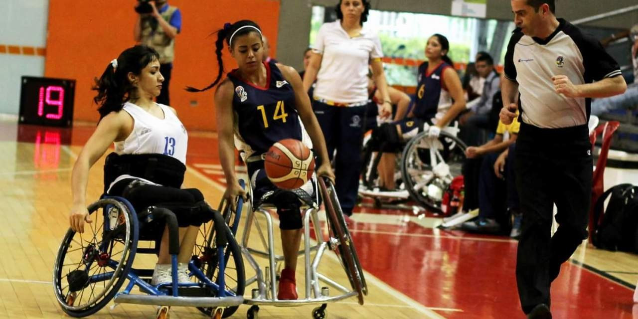 Argentina beat Colombia 39-19 in the women's event ©IWBF/INSPIRE Colombia