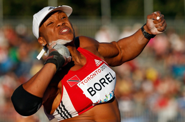 Shot putter Cleopatra Borel was one of three gold medallists from Trinidad and Tobago at the recent Pam American Games in Toronto