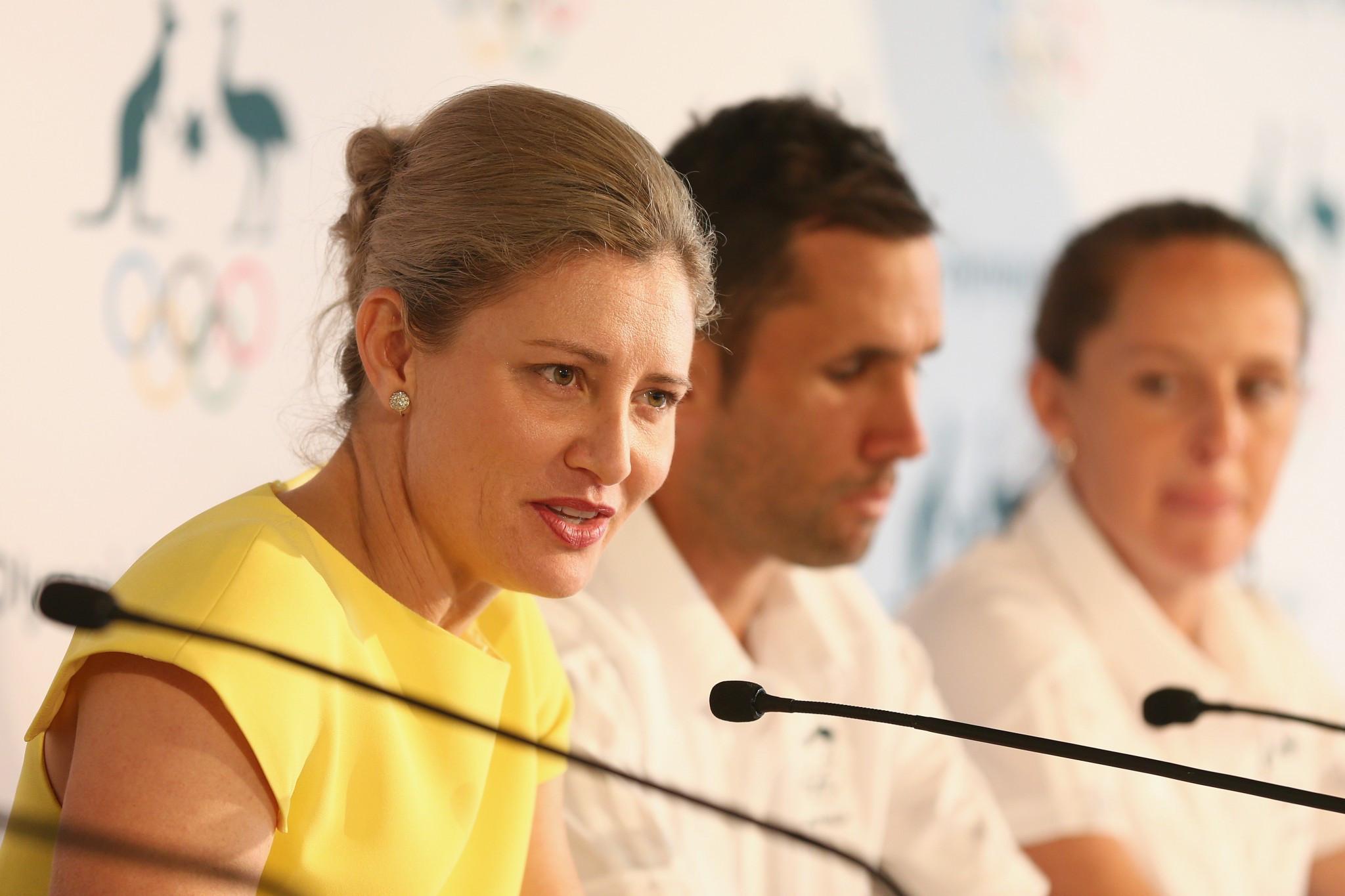 De Jong warns Australian Olympic Committee will not change under Coates