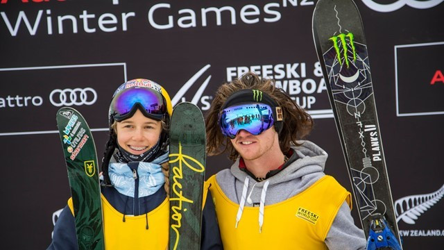 Woods wins in New Zealand again at FIS Slopestyle World Cup