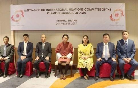 Bhutan Olympic Committee hosts OCA Committee in Thimphu