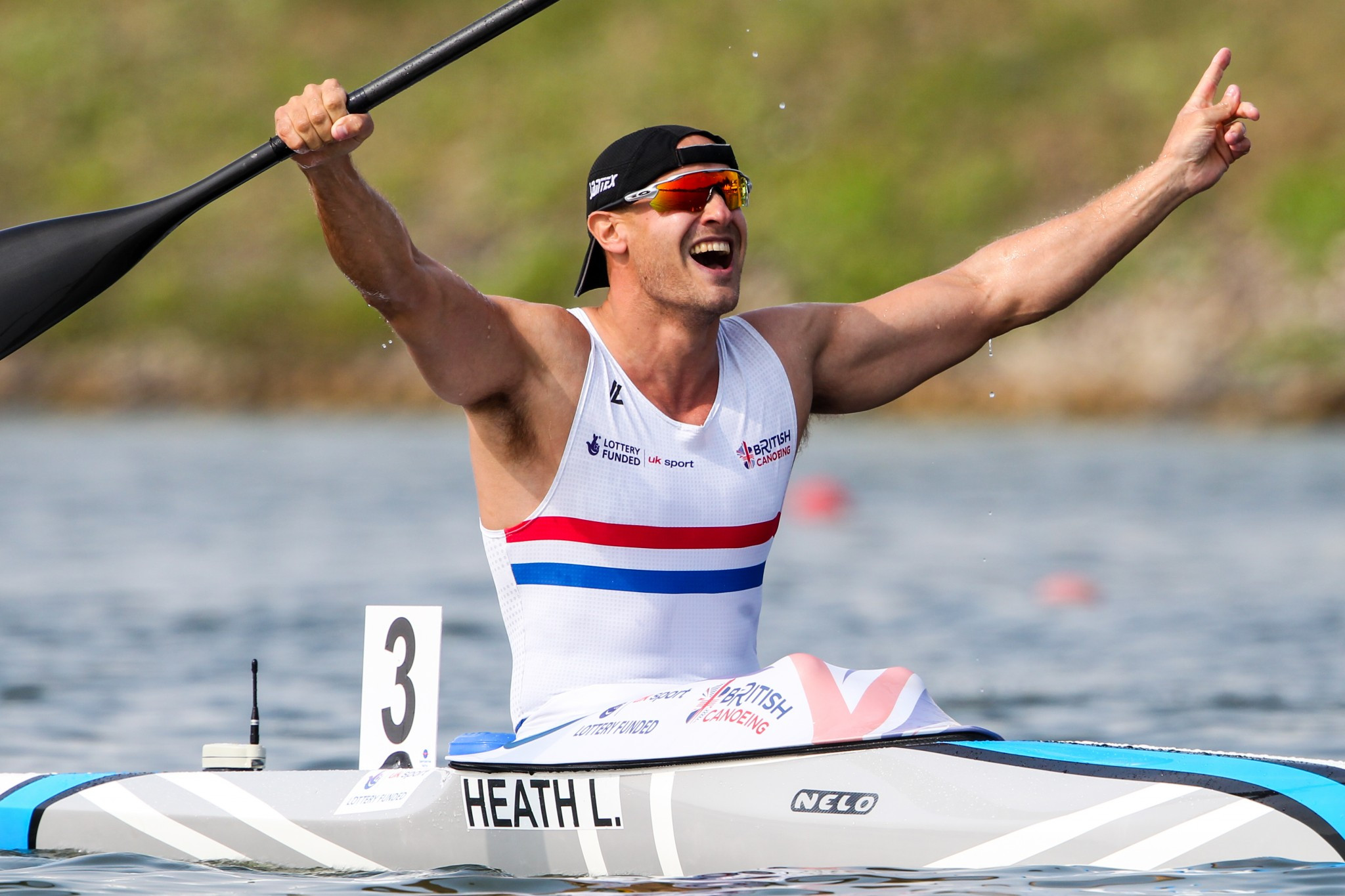 Heath completes clean sweep of major titles at ICF Canoe Sprint World Championships