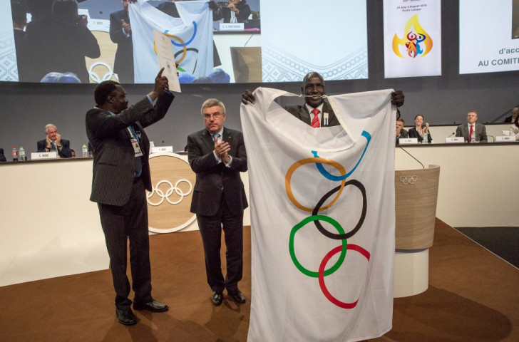 South Sudan targeting four-strong team at Rio 2016 after IOC recognition confirmed