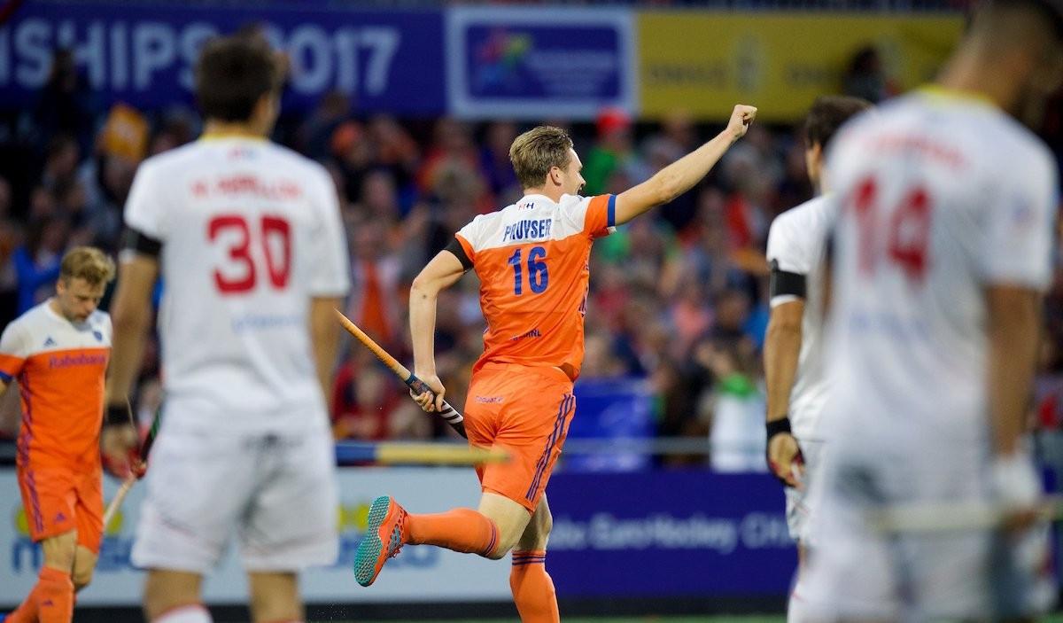 The Netherlands staged a stirring comeback to beat Belgium 4-2 ©EuroHockey