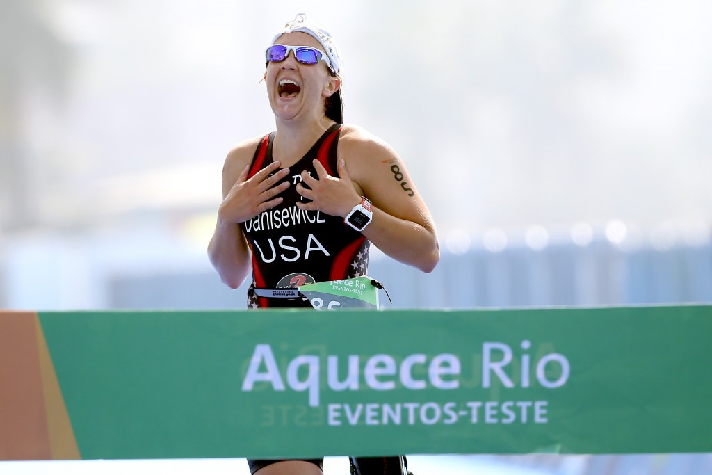 Brazil sweep PT3 podium at Rio 2016 Para-triathlon test event