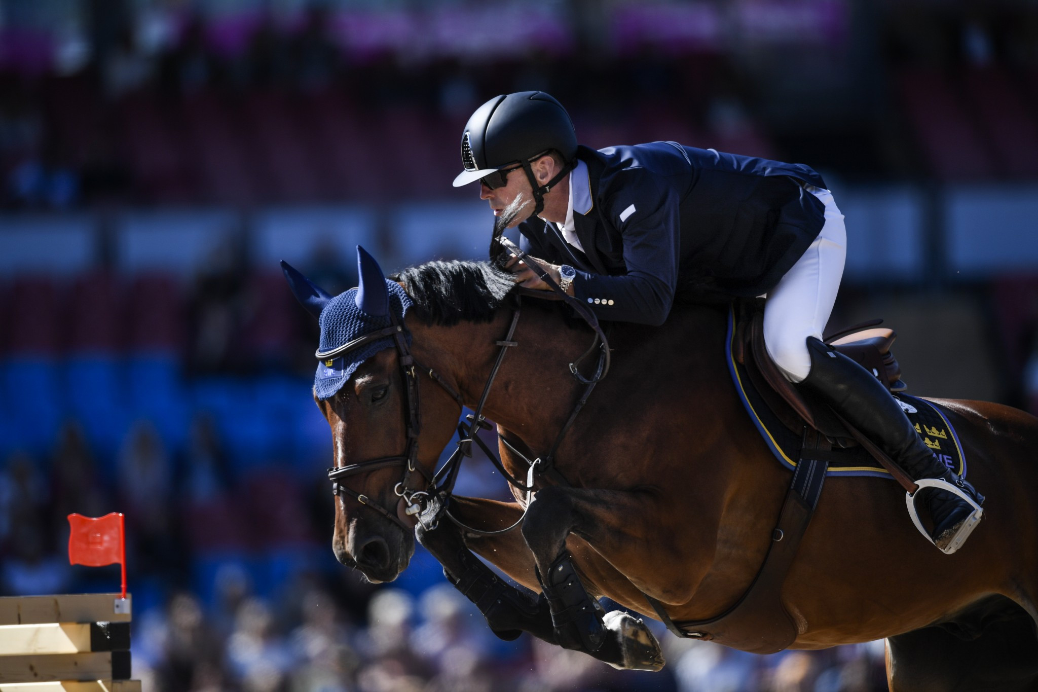 Fredricson holds on for individual jumping glory at FEI European Championships