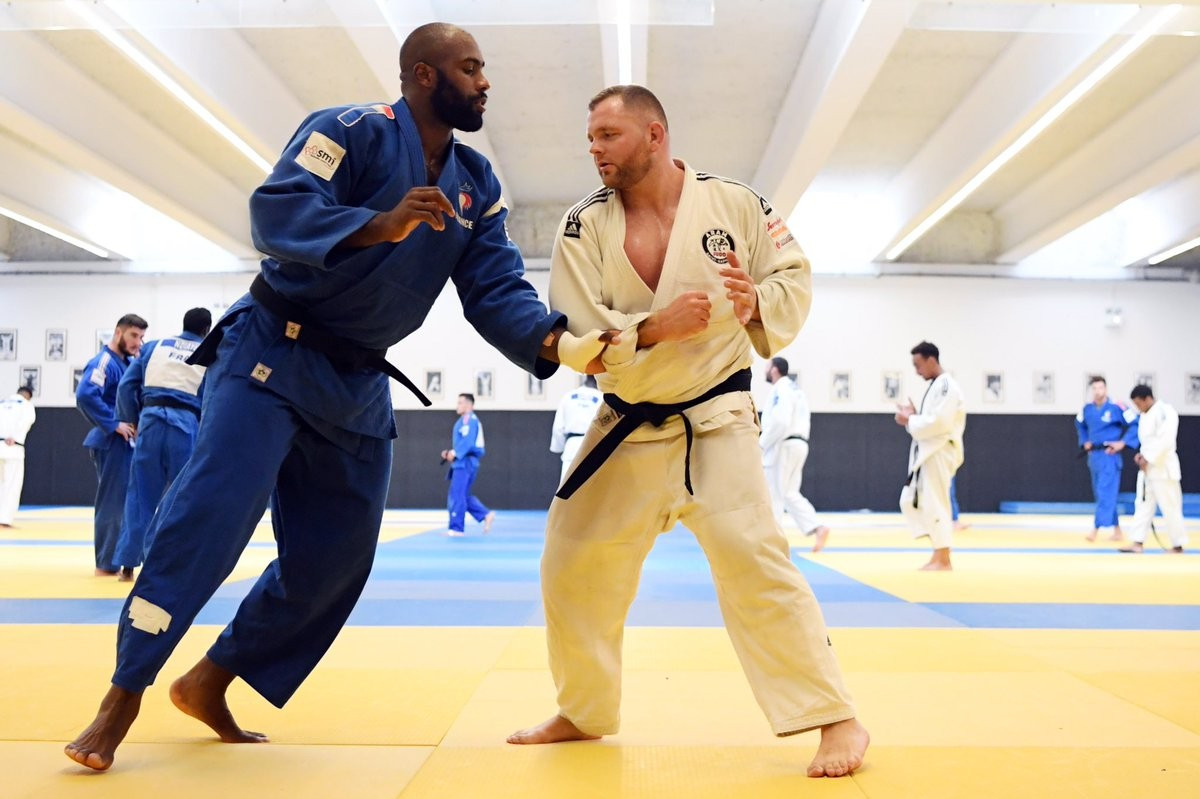 French star Teddy Riner will bid to secure a ninth title and maintain his remarkable unbeaten streak when he competes for the first time since the Olympic Games in Rio de Janeiro ©Twitter