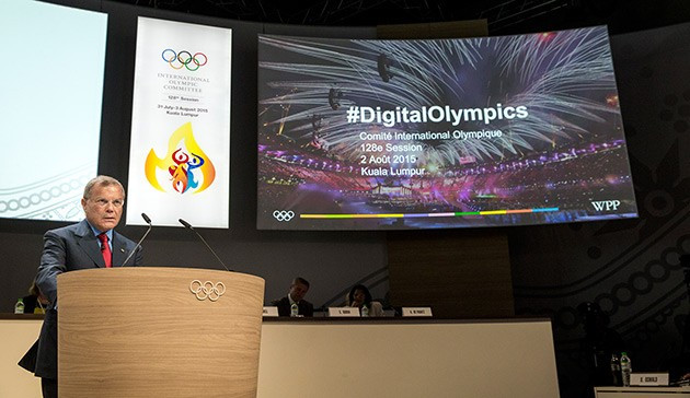 Media expert Sir Martin Sorrell urges IOC to be brave and totally transparent